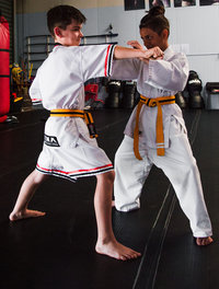 KMA Kids can defend themselves